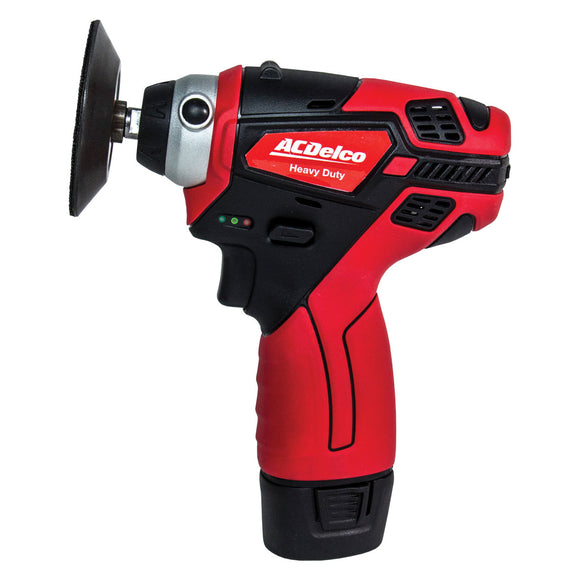 75mm MINI POLISHER Cordless 10.8V, Li-Ion 2.0Ah, - Galdes & Mamo
