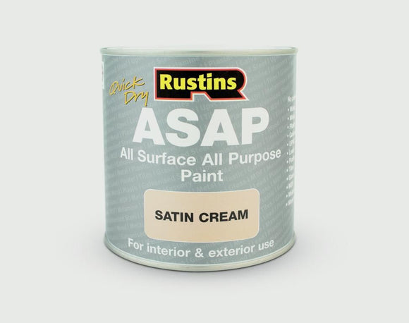 Quick dry ASAP Paint 250ml - Satin Cream - Galdes & Mamo