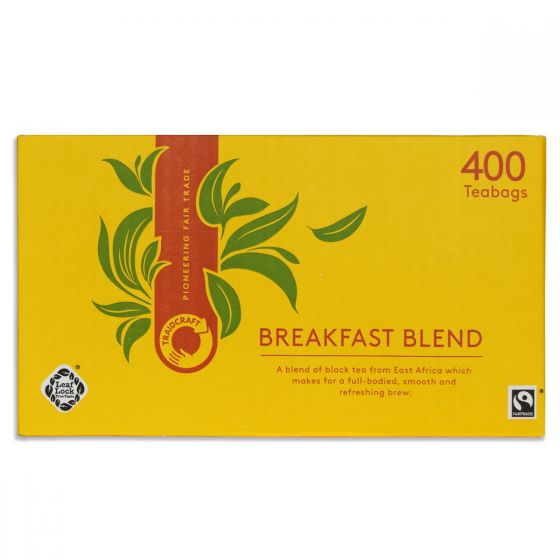 Traidcraft Breakfast Blend Teabags 400s