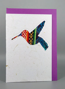 Artizan International  C6 Card - Hummingbird