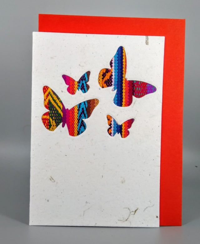Artizan International  C6 Card - Mini Butterflies