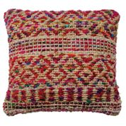 Load image into Gallery viewer, Namaste Hemp & Recycled Silk Cushion Cover, 45x45 cm