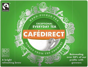 Cafedirect Everyday Teabags 80s