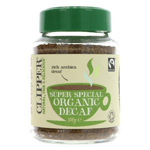 Clipper FT Organic Super Special Decaf Instant Coffee