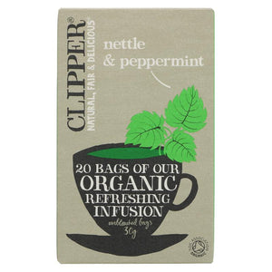 Clipper Nettle & Peppermint Teabags