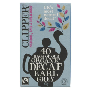 Clipper OG Earl Grey Decaffeinated Teabags 40s