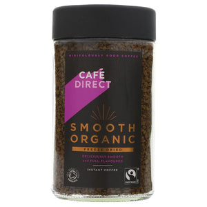 Cafedirect Smooth Organic Instant Coffee 100g