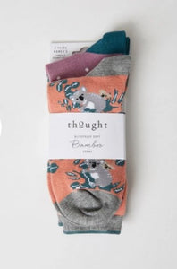 Thought Bamboo Women's Socks - Two Pack - Canguro