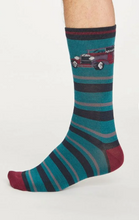 Load image into Gallery viewer, Thought Chauffeur Socks in a Bag, Size 4-7