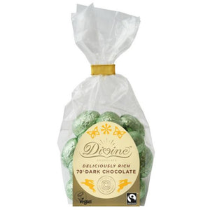 Divine Fair Trade Mini Eggs - Dark 152g