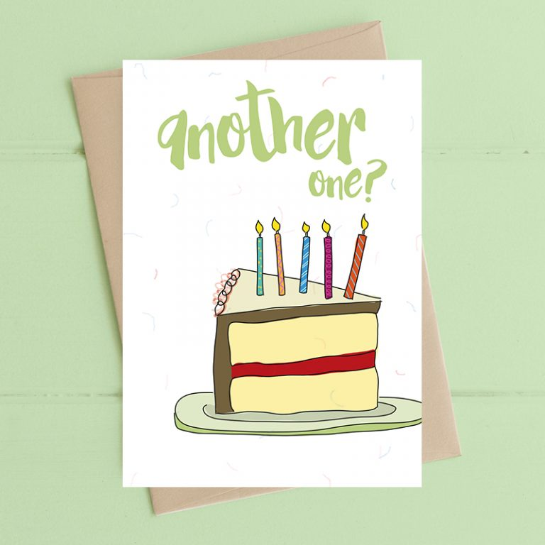 Dandelion Stationery Birthday - Another One?