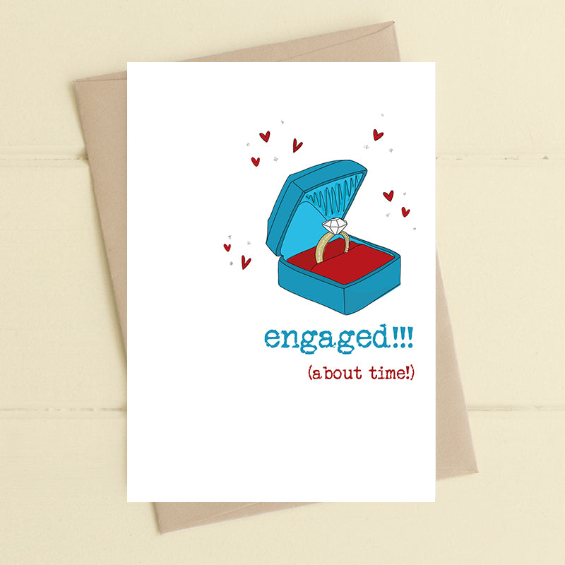 Dandelion Stationery - Engaged!!! (About Time)