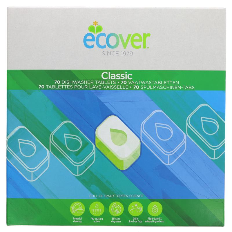 Ecover Dishwasher Tablets 70s