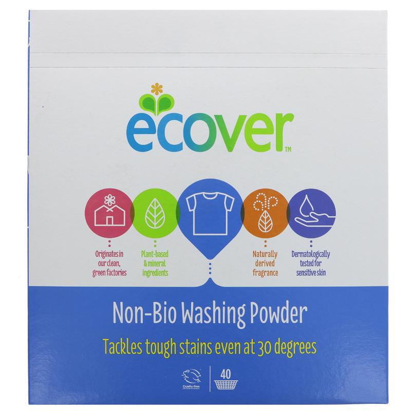 Ecover Non-Bio Washing Powder 3kg (HJ185)
