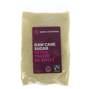 Equal Exchange Fairly Traded OG Raw Cane Sugar 500g
