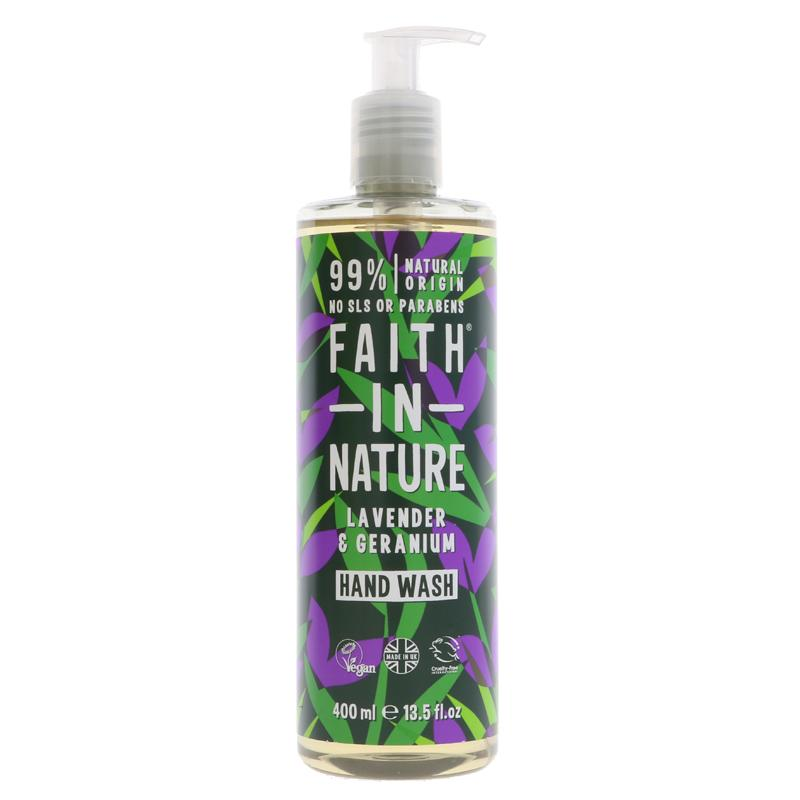 Faith in Nature Hand Wash 400ml