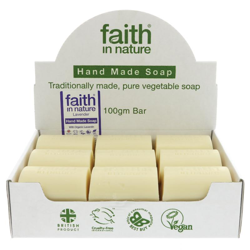 Faith in Nature Unwrapped Lavender Soap 100g