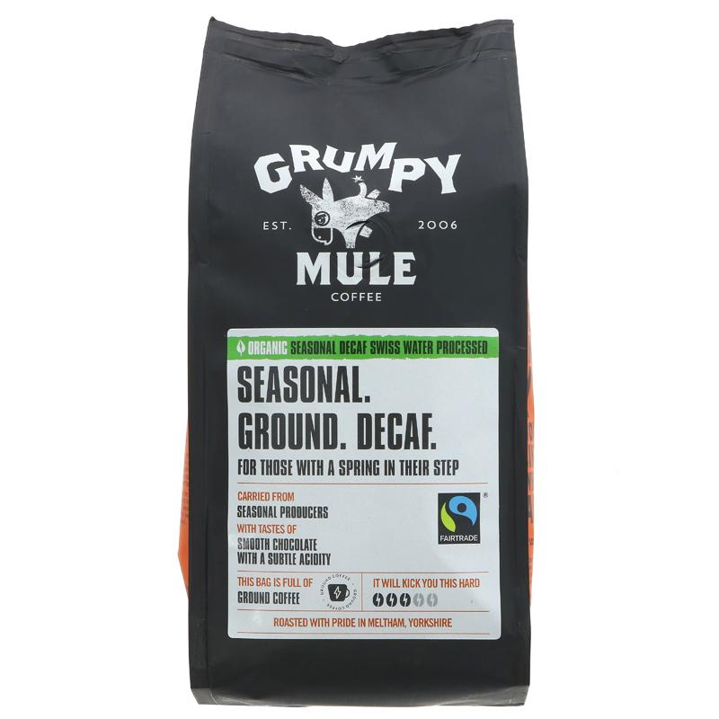 Grumpy Mule OG Seasonal Decaf Ground Coffee