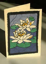 Cards from the Mountains - Lotus Flower