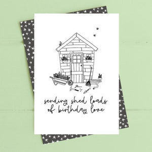 Dandelion Stationery - Shed load of birthday love