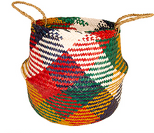 Load image into Gallery viewer, Namaste Multi Colour Seagrass Basket