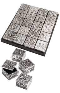 Namaste Mini Embossed Floral Design Box