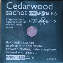 Load image into Gallery viewer, One Aromatics Fragrance Sachets - 6 Fragrances