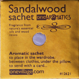 One Aromatics Fragrance Sachets - 6 Fragrances