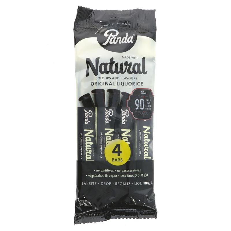 Panda All Natural Liquorice Bar 128g