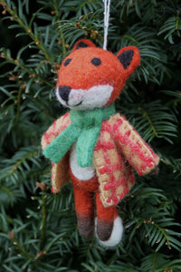 Pachamama Knitwear Mr Fox Decoration