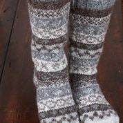 Load image into Gallery viewer, Pachamama Knitwear Finisterre Long Socks