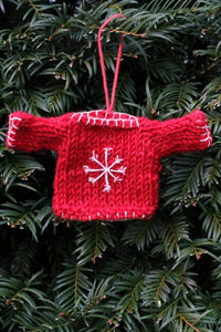 Pachamama Knitwear Snowflake Sweater Decoration