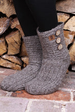 Load image into Gallery viewer, Pachamama Knitwear Morzine Slipper Socks