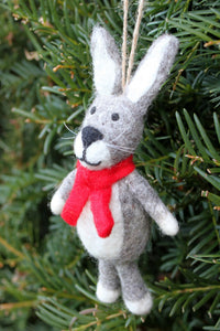 Pachamama Knitwear Harry the Hare Decoration