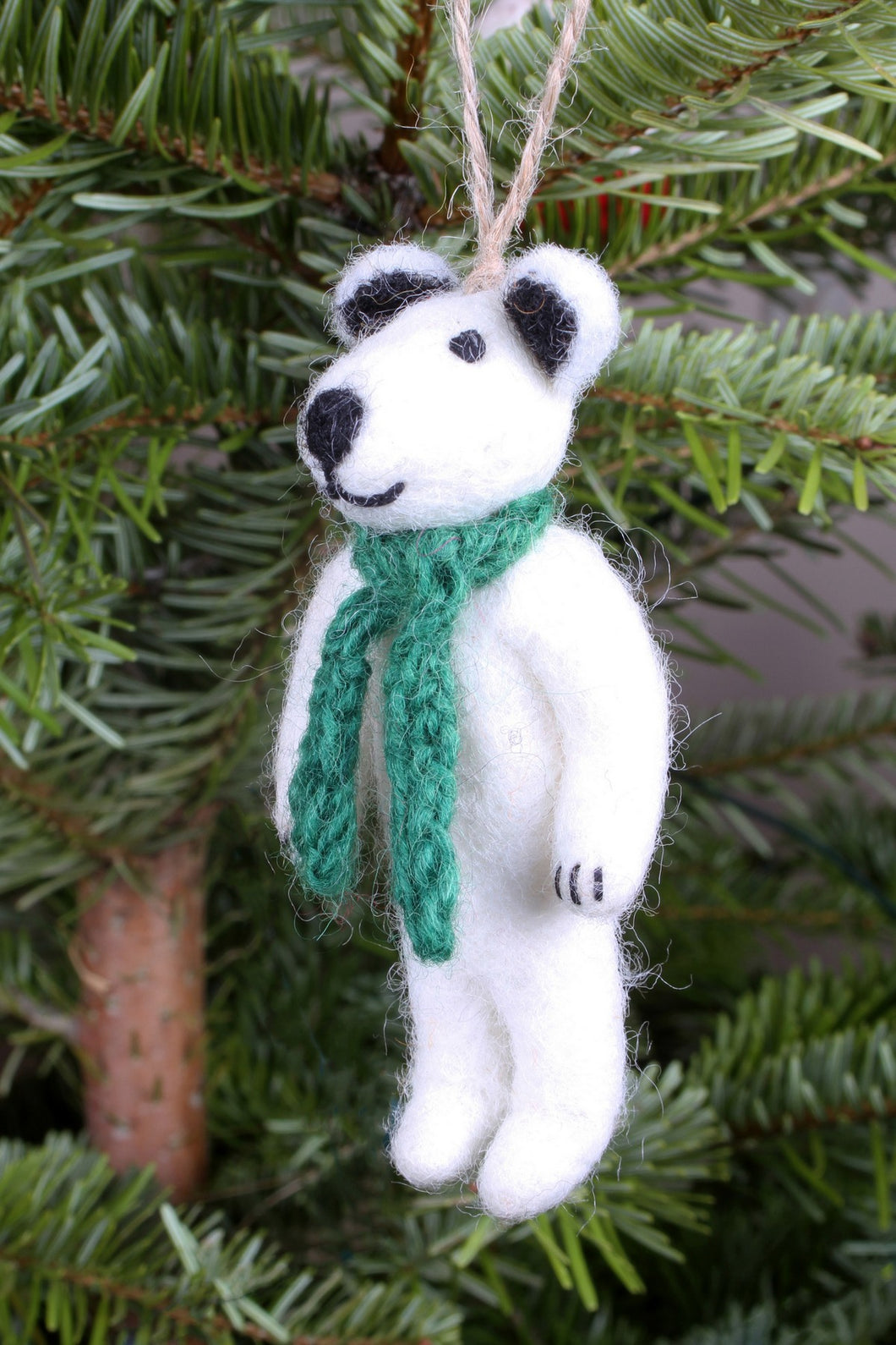 Pachamama Knitwear Peter the Polar Bear Decoration