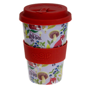 Shared Earth Rice Husk Travel Cup 400ml