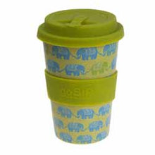 Load image into Gallery viewer, Shared Earth Rice Husk Travel Cup 400ml