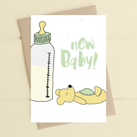 Dandelion Stationery - New Baby