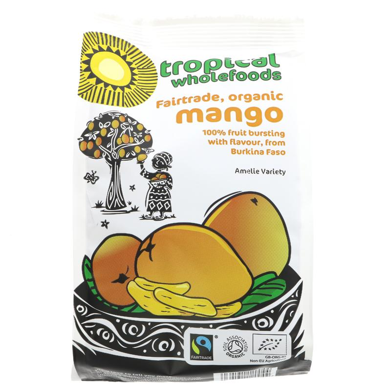 Tropical Organic Wholefoods Mango (100g)