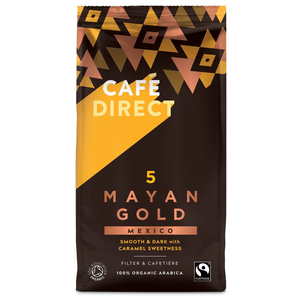 Cafedirect Mayan Gold Ground Coffee