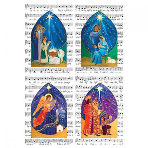 Traidcraft Christmas Carols Cards
