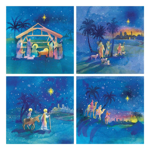 Traidcraft Scenes of the Christmas Story Cards
