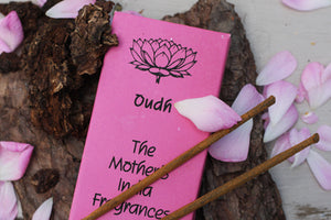 The Mother's India Fragrances - Oudh, 20 Sticks