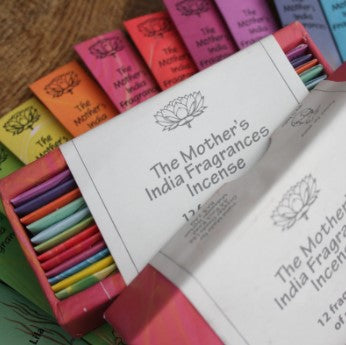 The Mother's India Fragrances Gift Box of Mini Sticks