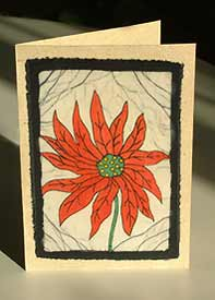 Cards from the Mountains - Winter Flower