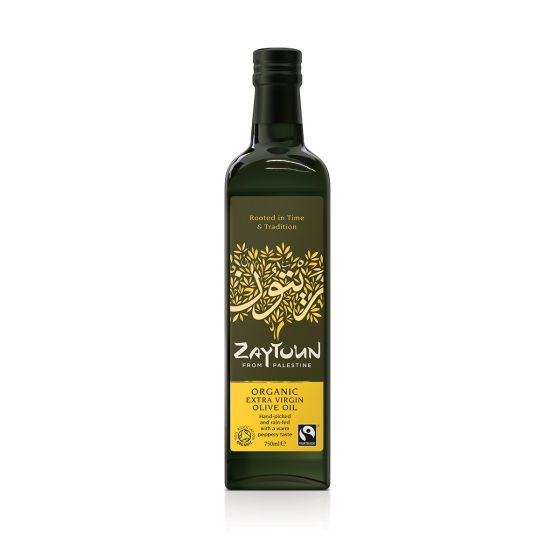 Zaytoun Extra Virgin Olive Oil 750ml