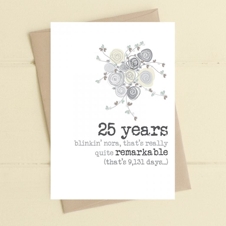 Dandelion Stationery - 25 years - Remarkable