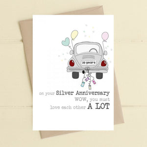 Dandelion Stationery - 25 years.  You Must Love Each Other a Lot
