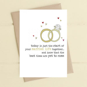 Dandelion Stationery Wedding - The Best is Yet to Come