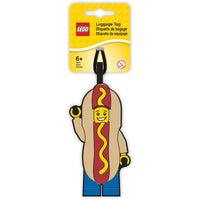 Hot Dog Luggage Tag